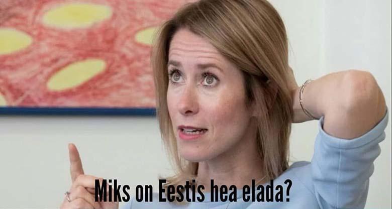 TÕESTI? Nüüd on siis teada, miks Eestis on hea elada...
