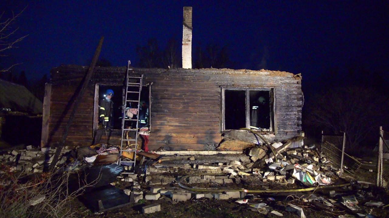 VIDEO: Viljandimaal hävis tulekahjus elumaja