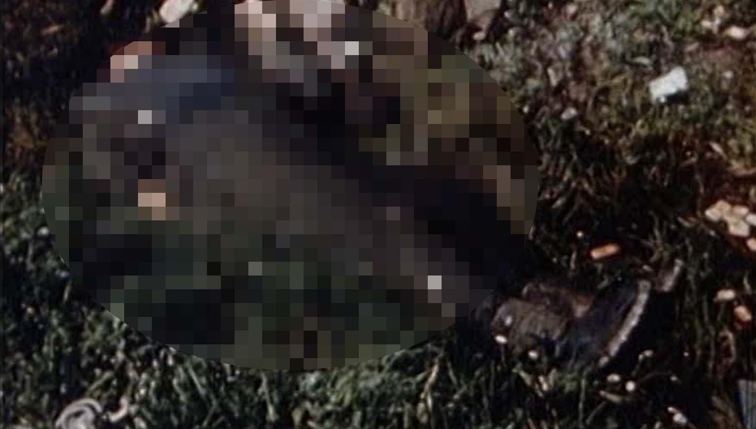 FOTOD SÜNDMUSKOHALT | Türisalu pangalt leiti surnukeha, mille kõrval oli relv