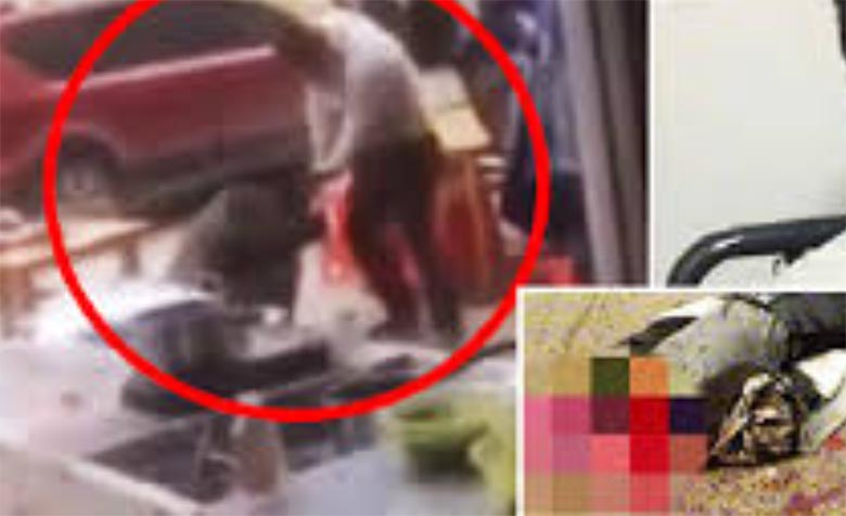 JÕHKER: Armukade välismaa mees lõikas süüdistuse kohaselt soomlannal pea otsast ja süütas põlema