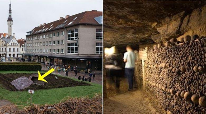 SUUR LUGU! Harju tänava kartulipõllu alt leiti sissepääs linnale mittesobivate isikute massihauda