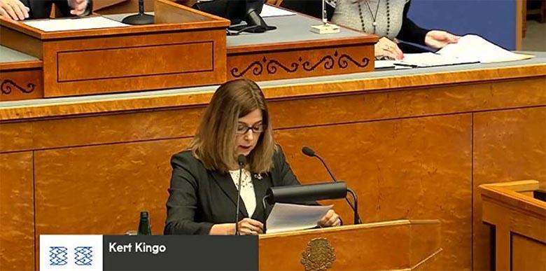 UUS VALITSUS TÖÖTAB - Minister Kert Kingo vahetas segaste rahaasjadega silma paistnud EAS-i nõukogus välja kolm inimest