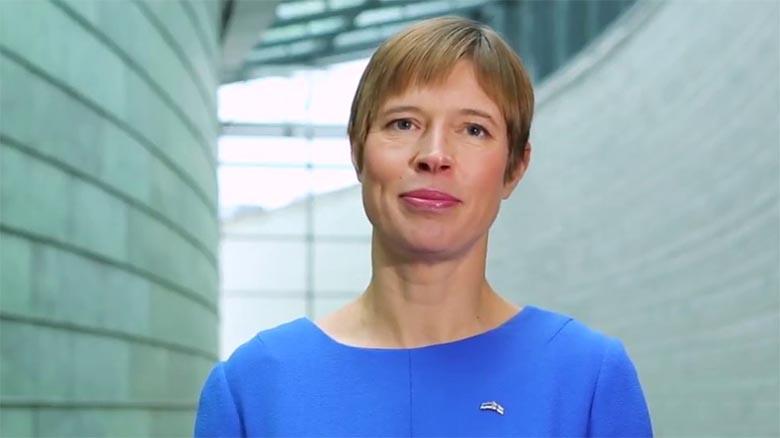 FOTO: Kunst - President Kersti Kaljulaid jäädvustati täiesti ilma riieteta