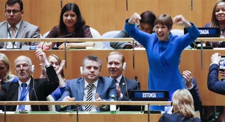 Eesti Ekspress ja Mikk Salu panid emotsionaalselt üleküdeva presidendi paika