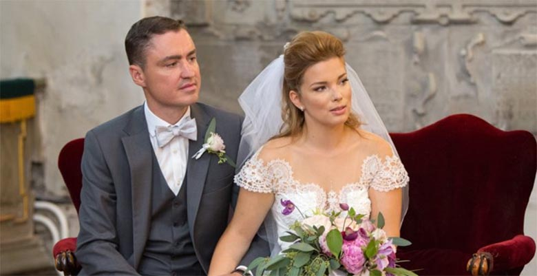 Luisa Rõivas jagas pulma-aastapäeva puhul oma pulmavideot