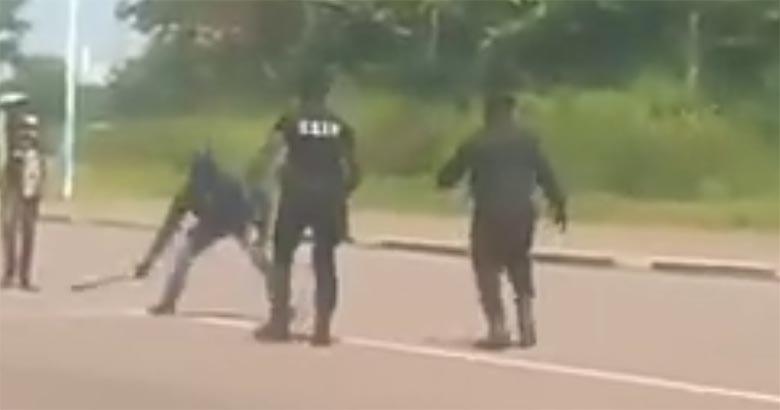 VIDEO: USKUMATU osavus - Politsei teeb Machetega mehe üliosavalt kahjutuks
