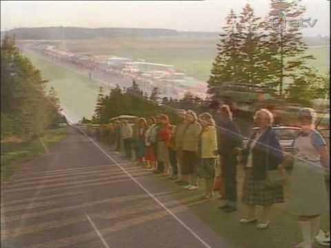 VIDEO: Kas Sina olid üks neist kahest miljonist Balti riikide elanikest, kes 23.augustil 1989.aastal Balti ketis seisis?