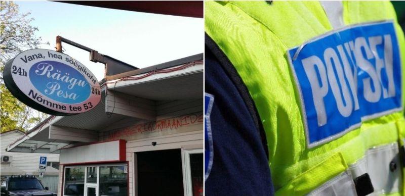 Räägupesa burksiputka on hädas kanepipoode puistanud näljaste politseinikega
