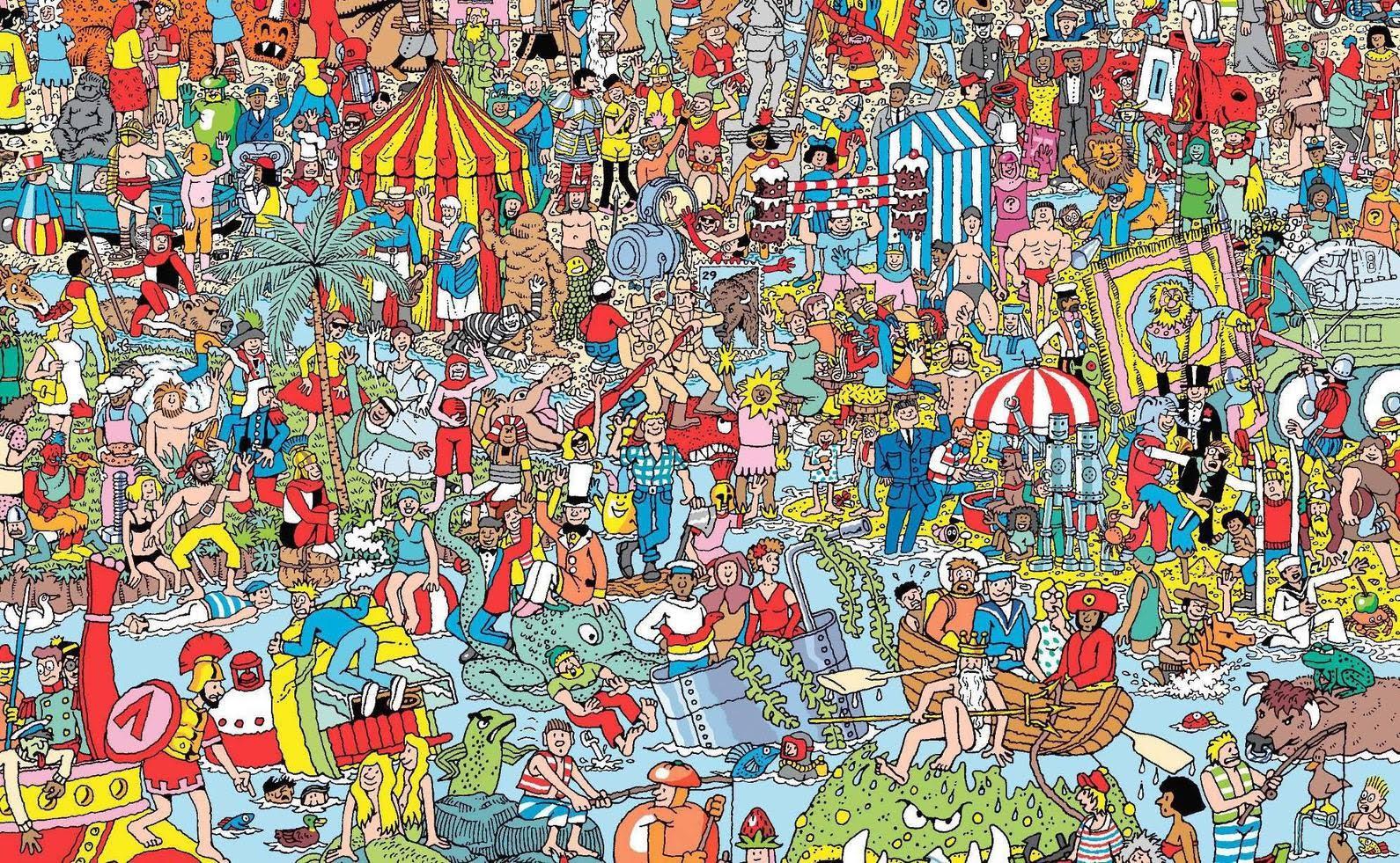 Ainult ülitähelepanelikele - leia pildilt Waldo.