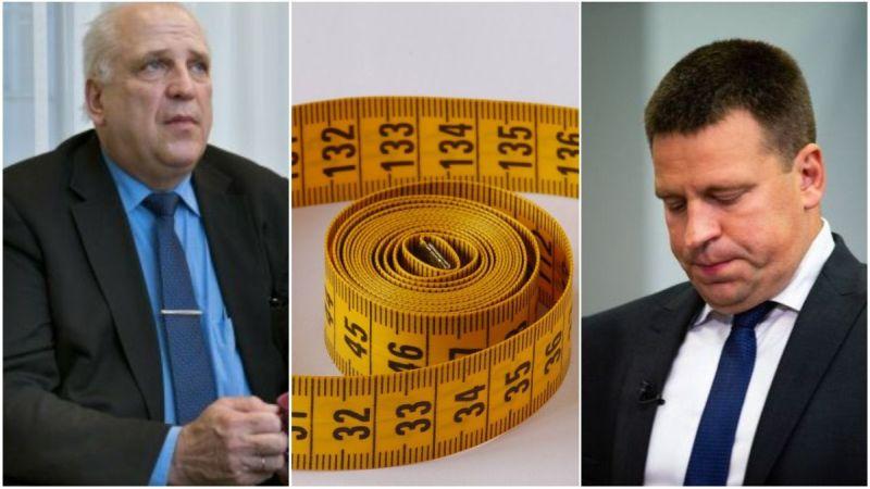 Maaeluminister jäi ametisse: Stenbockist ei leitud sobivat mõõdulinti Järviku jalgade mõõtmiseks