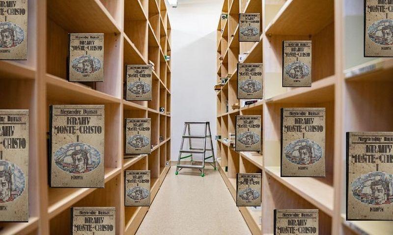 """FOTOUUDIS! Vanglate raamatukogud suletakse, ainukeseks raamatuks jääb """"Krahv Monte Kristo"""""""