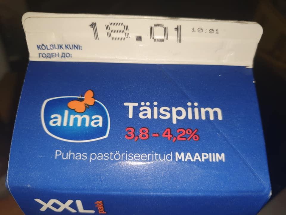 FOTO: UHH – Kas tõsi või kellegi rumal nali? Üks inimene väidab, et leidis Alma piimapaki seest sellise jubeduse…
