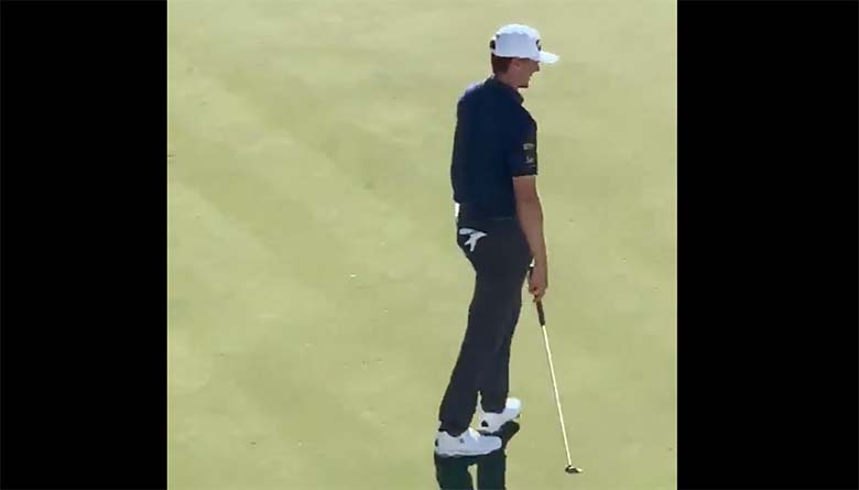 VIDEO: MIDA VÄRKI – Pealtvaataja näitas golfimängijale oma paljaid rindu