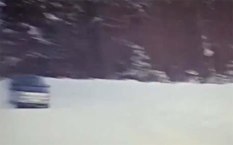 VIDEO: Elu viimased sekundid – auto järel veetaval kummirõngal olev naine jäi vastutuleva auto rataste alla