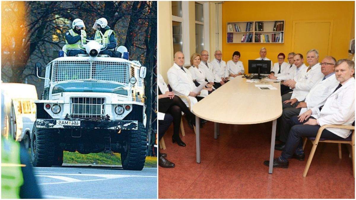 ERIOLUKORD: Valitsus saadab Tartu Ülikooli kliinikujuhtide mässu maha suruma eriüksuse ja veekahuri