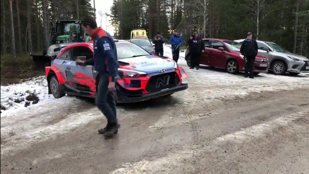 VIDEO: Ott Tänaku ja Martin Järveoja Rootsi ralli eelne test
