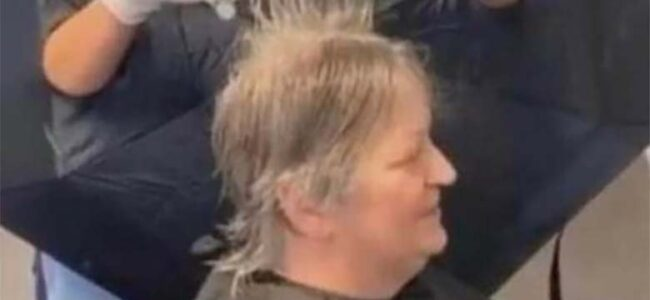 FOTO: Vaata, kuidas koroonaviiruse ajal juuksur töötab