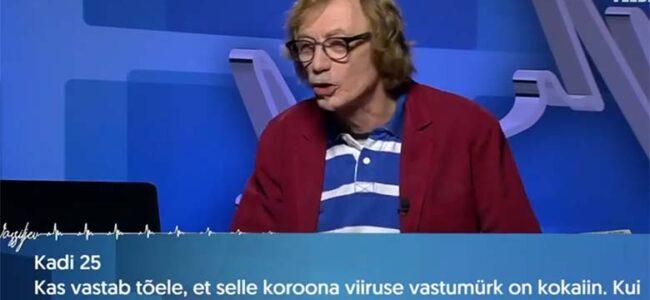 VIDEO: TOHOH – Dr Vassiljev annab teada, kas kokaiin aitab koroonaviiruse vastu