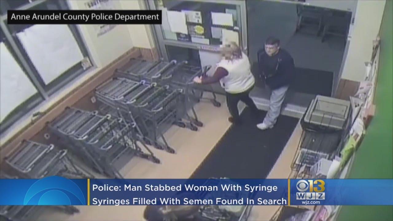 VIDEO: ÕUDNE - mees süstis võõra naise tagumikku süstlaga spermat