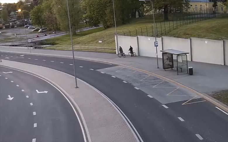 POLITSEI VIDEO: VAU – Vaata, kuidas kaks purupurjus ratturit Tallinnas oma oskuseid proovile panid