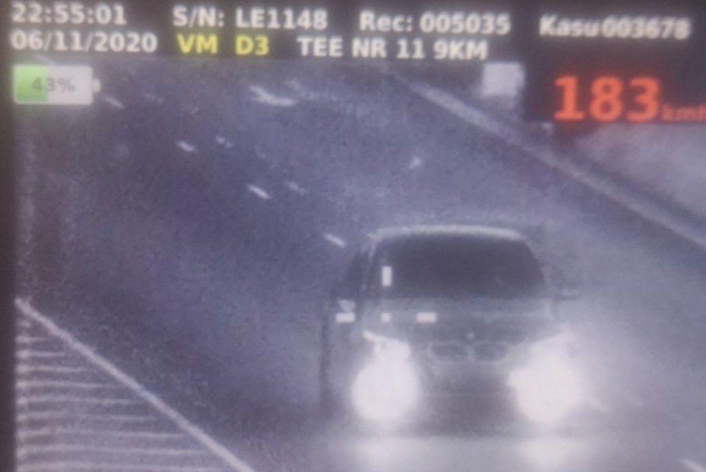 VAU – Vaata, milliste kiirusületamistega neljapäeval autojuhid politseile vahele jäid