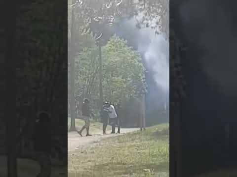 VIDEO: Tumedanahaliste suur grillipidu Nõmmel hirmutas tallinlasi