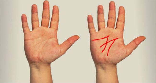 Vaata oma peopesa – kui sul on peopesas «M» täht siis uuri järgi, mida see tähendab