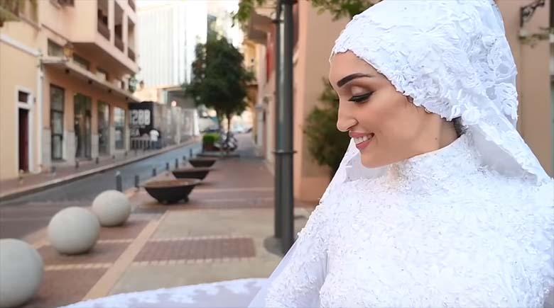 VIDEO PLAHVATUSEST: JÕHKER – Beiruti pruut poseeris plahvatuse ajal pulmafotograafile