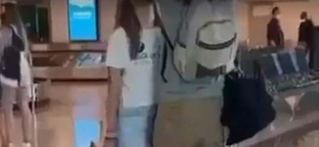 VIDEO: OPAA – sellist naisepoolset lennujaama tervitusloosungit oma mehele pole sa ilmselt küll kunagi näinud