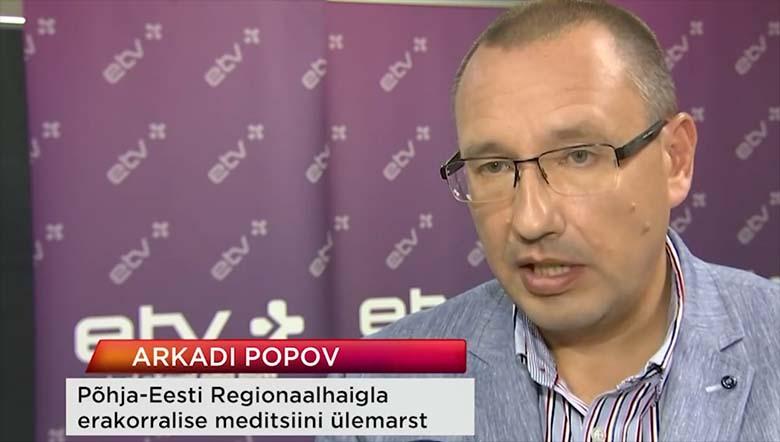 Arkadi Popov selgitab, miks Eestis koroonaviirusesse nakatunute arv tõuseb