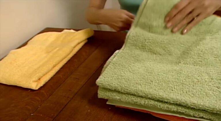 VIDEO: Mida teha kasutatud vannirätikutega? Siin on üks suurepärane viis, kuidas neid taaskasutada!