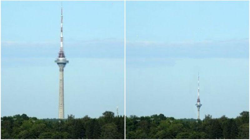 PÕHJUS, miks tehti ettepanek teletorni kõrgust poole vähemaks teha...