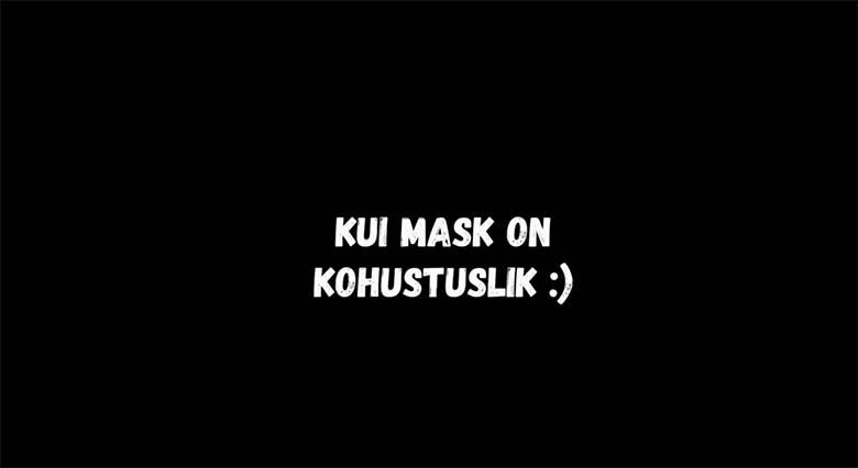 VIDEO: HAHA - Siis, kui tänu koroonaviirusele mask on kohustuslik...