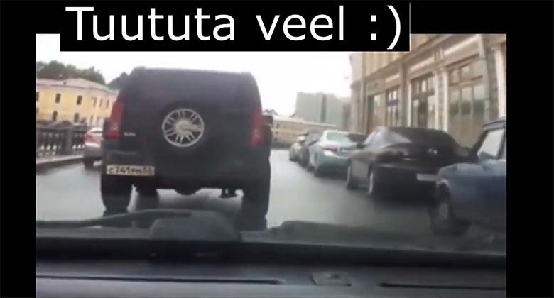 VIDEO: EBAREAALNE - vaata, mis sellele signaalitaja autoga tehakse